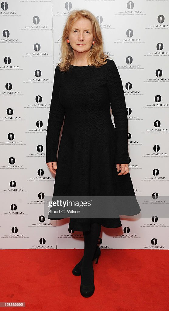 Sally Potter attends as The Academy of Motion Picture Arts and Sciences honours director Pedro Almodovar at Curzon Soho on December 13, 2012 in London, England.