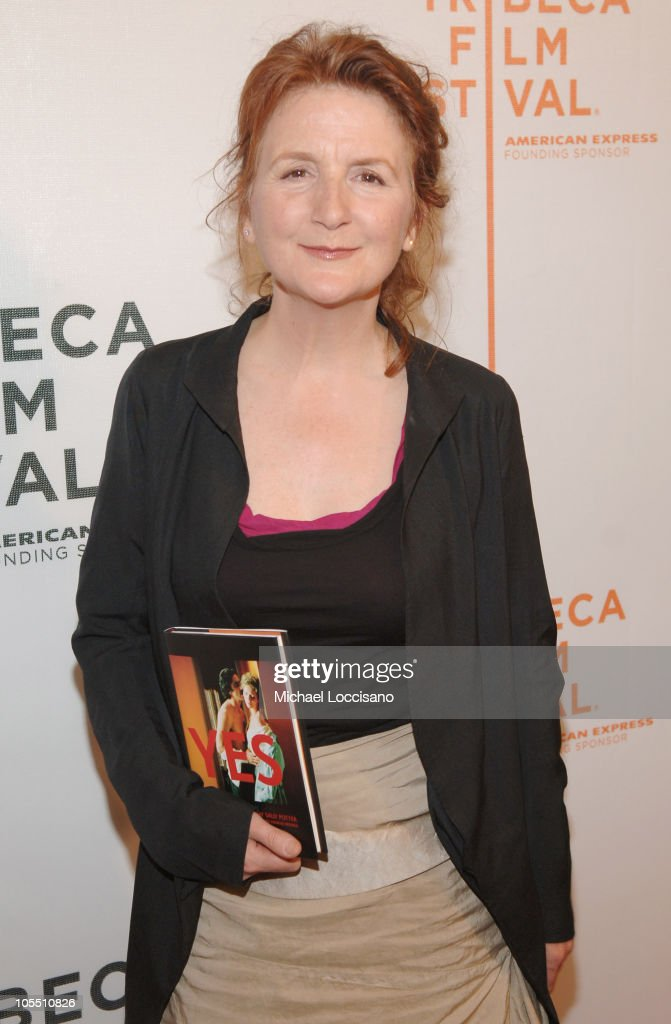 <a gi-track='captionPersonalityLinkClicked' href=/galleries/search?phrase=Sally+Potter&family=editorial&specificpeople=212743 ng-click='$event.stopPropagation()'>Sally Potter</a> during 4th Annual Tribeca Film Festival - 'Yes' Premiere at Stuyvesant High School in New York City, New York, United States.