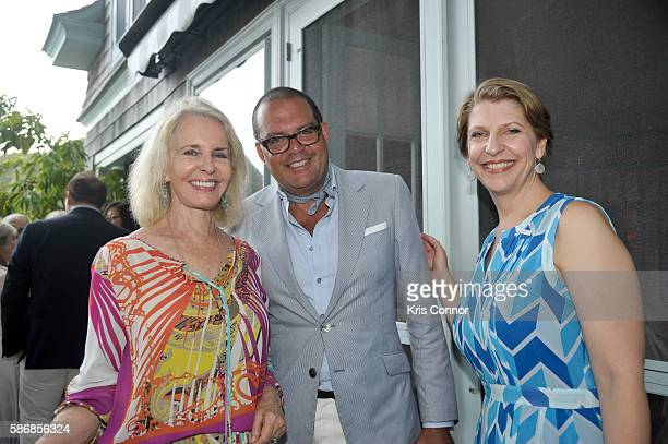 Sally Quinn John Connor and Lindsay Jones attends a cocktail party introducing Friends of Quinn Understood The National Center for Learning...