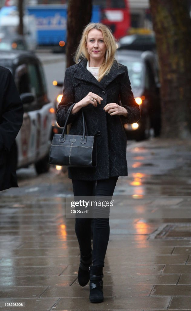 Sally Roberts arrives at The High Court on December 20, 2012 in London, England. The High Court has ruled against Ms Roberts' wishes that son Neon is to undergo an operation to remove a brain tumour. She is continuing to legally fight a decision by her local health authority to administer radiotherapy cancer treatment to Neon.