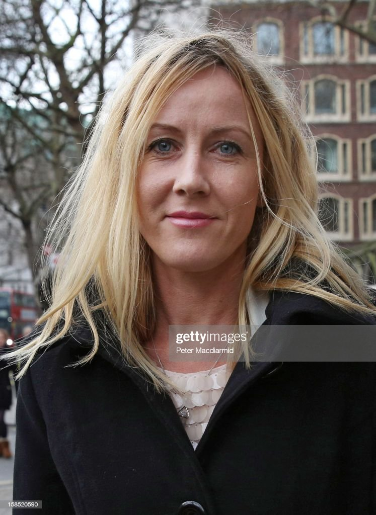 Sally Roberts leaves The High Court on December 18, 2012 in London, England. Further legal arguments are to be heard today as Ms Roberts fights a ruling on whether a local health authority should give her seven-year-old son Neon cancer treatment for a brain tumour against her wishes.