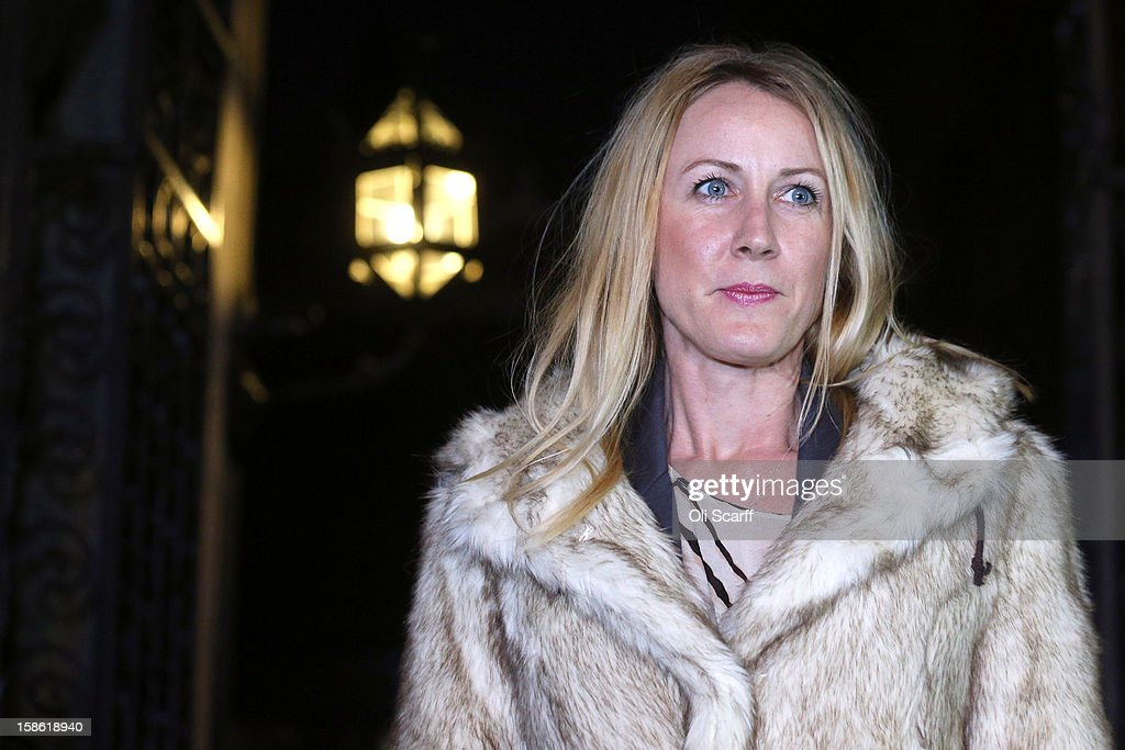 Sally Roberts leaves The High Court on December 21, 2012 in London, England. The High Court has ruled against Ms Roberts' wishes and her son Neon underwent an operation to remove a brain tumour. She is continuing to legally fight a decision by her local health authority to administer radiotherapy cancer treatment to Neon.