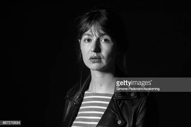 Sally Rooney attends a photocall during the Edinburgh International Book Festival on August 22 2017 in Edinburgh Scotland