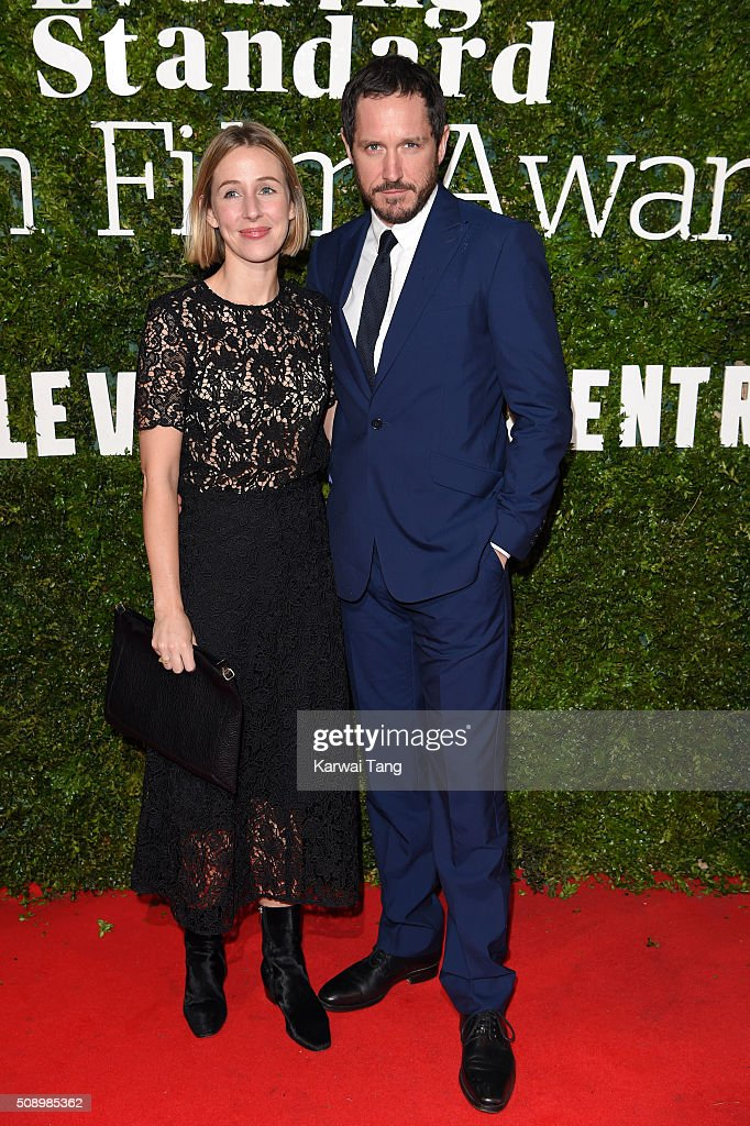 Sally Scott and Bertie Carvel attend the London Evening Standard British Film Awards at Television Centre on February 7, 2016 in London, England.