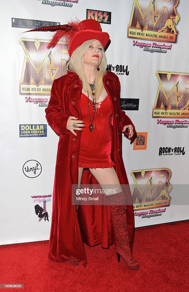 Sally Steele walks the red carpet at the Vegas Rocks! Magazine Awards on August 26, 2012 in Las Vegas, Nevada.