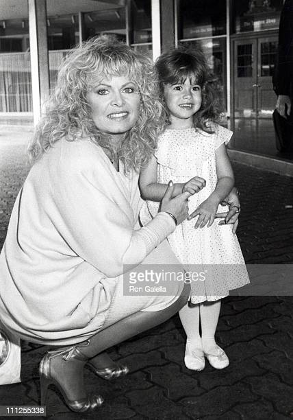 Sally Struthers and daughter Samantha during Young Musicians Foundation Celebrity MotherDaughter Fashion Show 1983 at Beverly Hills Hotel in Beverly...