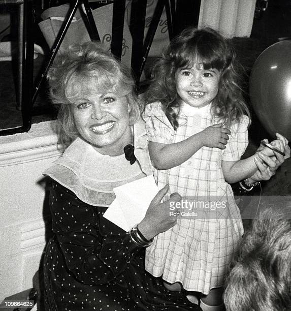 Sally Struthers and Daughter Samantha Rader during Young Musicians Foundation's MotherDaughter Fashion Show March 10 1982 at Beverly Hills Hotel in...