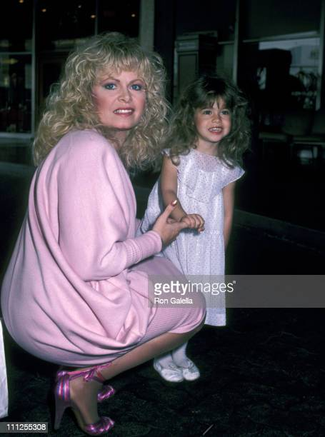 Sally Struthers and Daughter Samantha Rader during Young Musicians Foundation Celebrity MotherDaughter Fashion Show 1983 at Beverly Hills Hotel in...