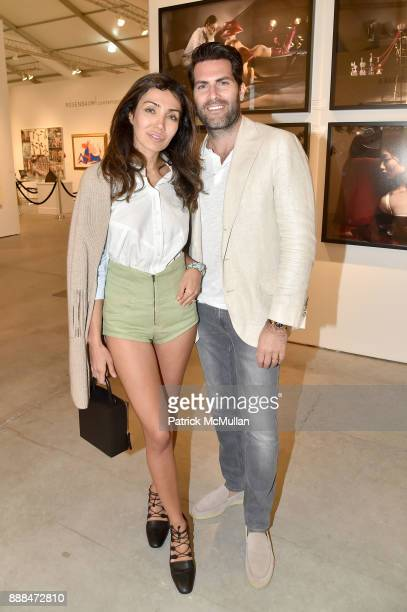 Sally Yedid and Edward Yedid attend Art Miami VIP Preview at Art Miami Pavilion on December 6 2017 in Miami Beach Florida