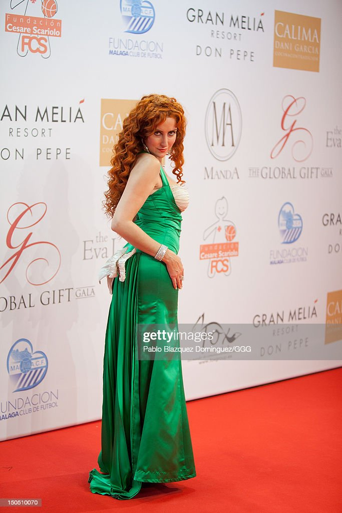 Salma attends the Global Gift Gala held to raise benefits for Cesare Scariolo Foundation and Eva Longoria Foundation on August 19, 2012 in Marbella, Spain.