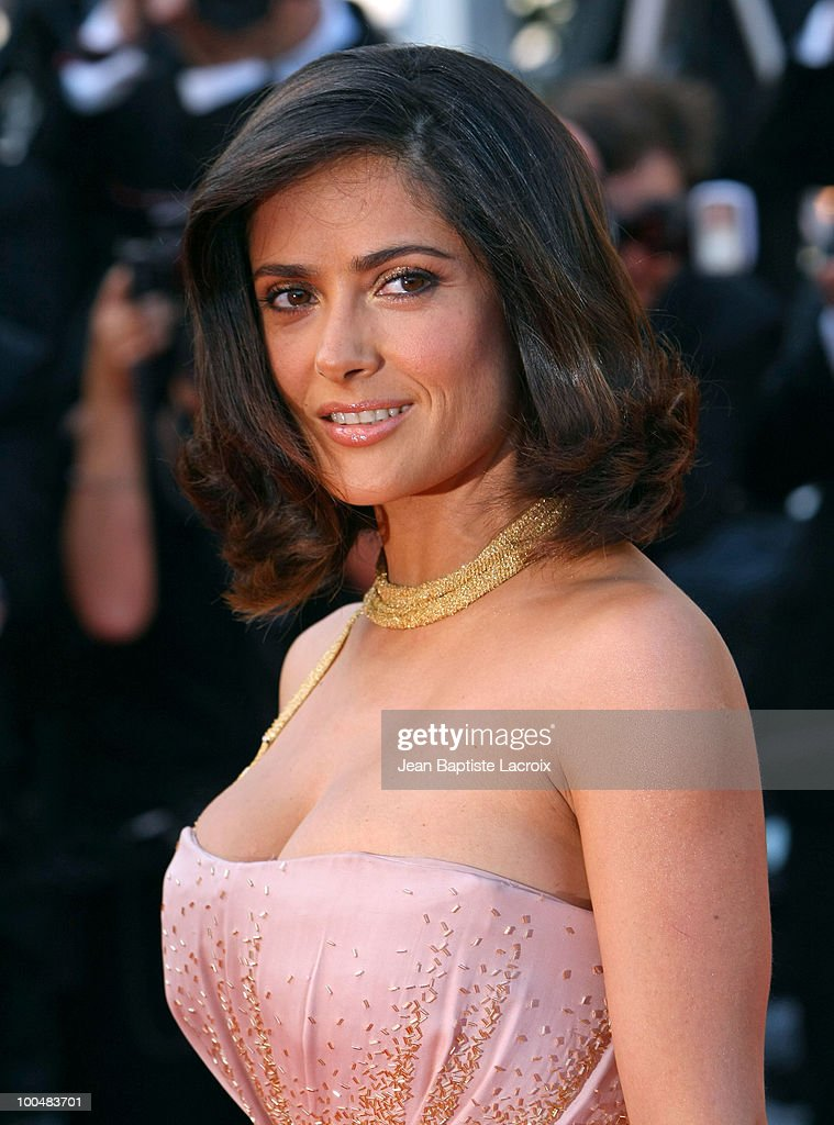Salma Hayeck attends the Palme d'Or Closing Ceremony held at the Palais des Festivals during the 63rd Annual International Cannes Film Festival on May 23, 2010 in Cannes, France.
