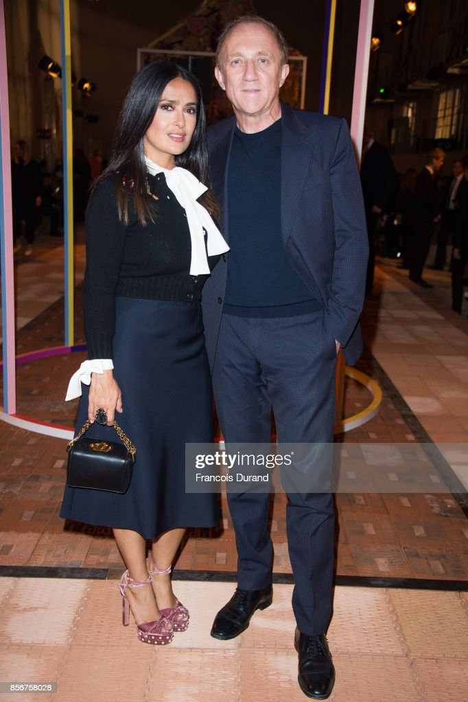 salma-hayek-and-francoishenri-pinault-attend-the-alexander-mcqueen-picture-id856758028