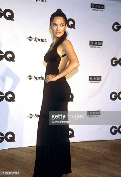 Salma Hayek at GQ Man of the Year awards New York October 21 1999