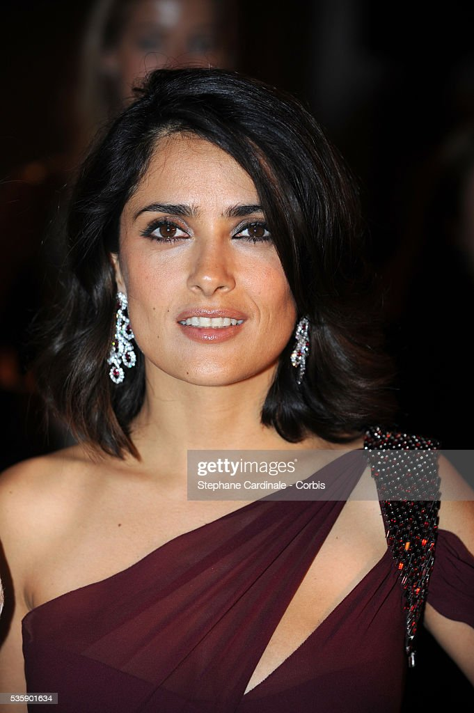 Salma Hayek at the Opening Dinner during the 63rd Cannes International Film Festival.