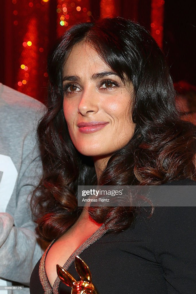Salma Hayek attend 'BAMBI Awards 2012' at the Stadthalle Duesseldorf on November 22, 2012 in Duesseldorf, Germany.