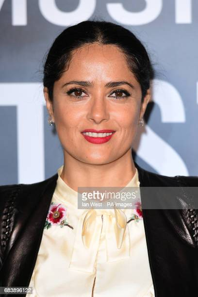 Salma Hayek attending the Can't Stop Won't Stop A Bad Boy Story screening at the Curzon Mayfair Curzon Street London PRESS ASSOCIATION Photo Picture...
