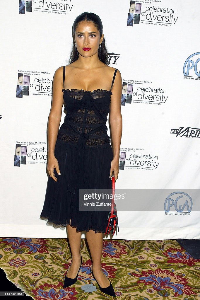 Salma Hayek attending the Producers Guild of America 2nd Annual Celebration of Diversity at the Beverly Regent Beverly Wilshire Hotel in Beverly...