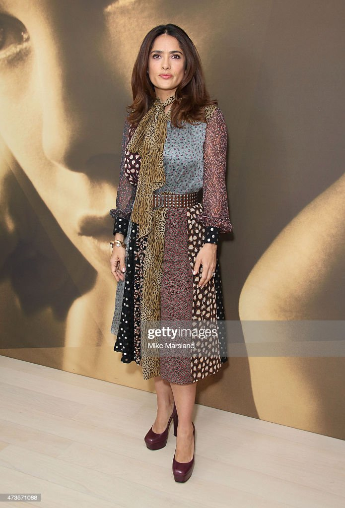 <a gi-track='captionPersonalityLinkClicked' href=/galleries/search?phrase=Salma+Hayek&family=editorial&specificpeople=201844 ng-click='$event.stopPropagation()'>Salma Hayek</a> attends a talk by <a gi-track='captionPersonalityLinkClicked' href=/galleries/search?phrase=Salma+Hayek&family=editorial&specificpeople=201844 ng-click='$event.stopPropagation()'>Salma Hayek</a> for Kering during the 68th annual Cannes Film Festival on May 16, 2015 in Cannes, France.