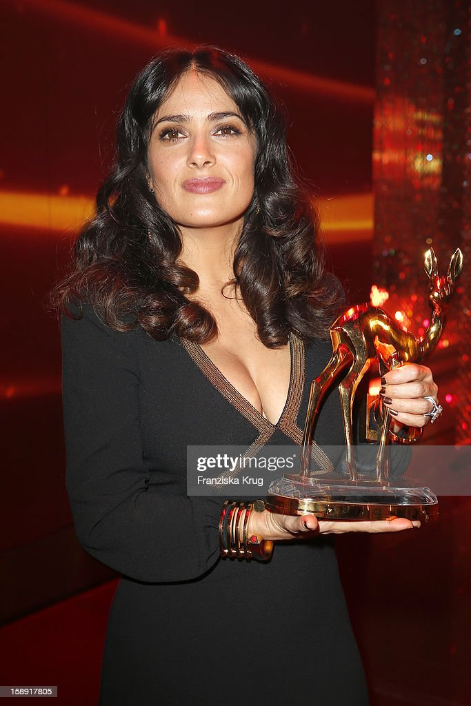 Salma Hayek attends the 'BAMBI Awards 2012' at the Stadthalle Duesseldorf on November 22, 2012 in Duesseldorf, Germany.
