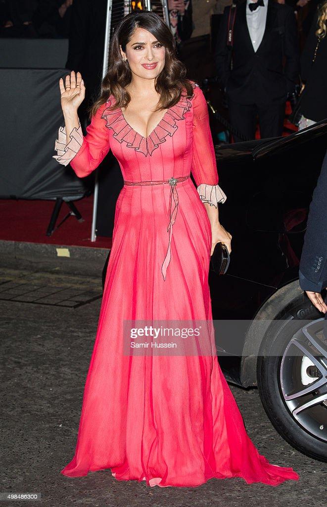 British Fashion Awards 2015 - Outside Arrivals