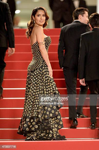 Salma Hayek attends the 'Il Racconto Dei Racconti' Premiere during the 68th annual Cannes Film Festival on May 14 2015 in Cannes France