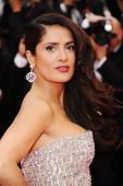 Salma Hayek attends the Opening Ceremony at the Palais des Festivals during the 64th Cannes Film Festival on May 11 2011 in Cannes France