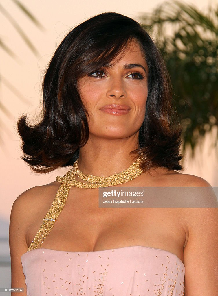 Salma Hayek attends the Palme d'Or Award Ceremony Photo Call held at the Palais des Festivals during the 63rd Annual International Cannes Film Festival on May 23, 2010 in Cannes, France.