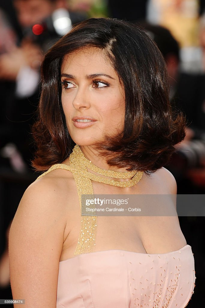 Salma Hayek attends the premiere of 'The tree' during the 63rd Cannes International Film Festival.