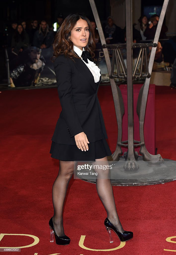 <a gi-track='captionPersonalityLinkClicked' href=/galleries/search?phrase=Salma+Hayek&family=editorial&specificpeople=201844 ng-click='$event.stopPropagation()'>Salma Hayek</a> attends the World Premiere of 'Exodus Gods and Kings' at Odeon Leicester Square on December 3, 2014 in London, England.