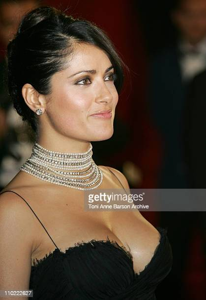 Salma Hayek during 2005 Cannes Film Festival 'Sin City' Premiere in Cannes France