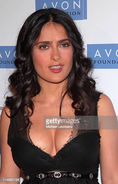 Salma Hayek during Avon Foundation's 50th Anniversary Celebration at American Museum of Natural History in New York City New York United States