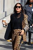 Celebrity Sightings In Los Angeles - October 14, 2021