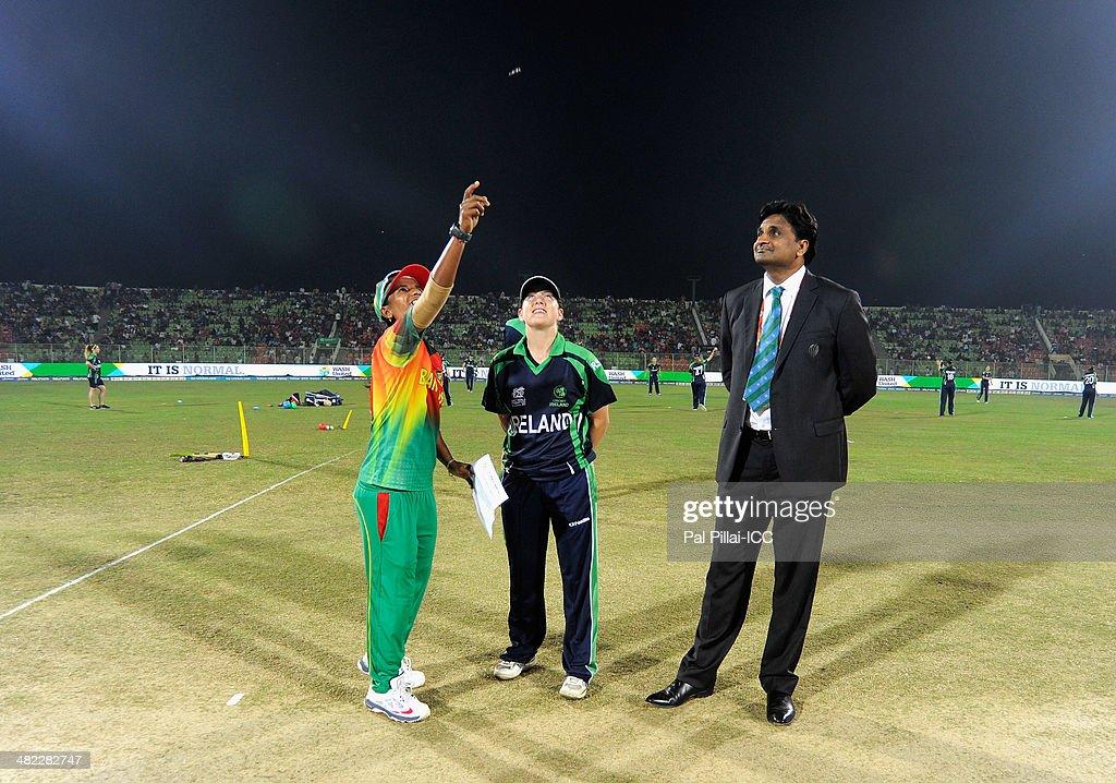 Bangladesh Women v Ireland Women - ICC Womens World Twenty20 Bangladesh 2014