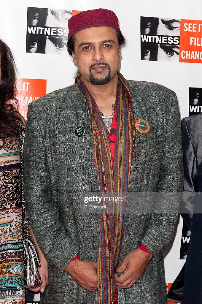 Salman Ahmed attends the 2013 Focus For Change gala benefiting WITNESS at Roseland Ballroom on December 5, 2013 in New York City.