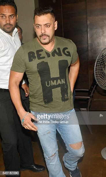 Salman Khan at the screening of 'Sultan' at LightBox in Mumbai