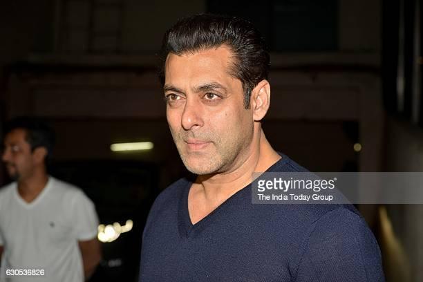 Salman Khan at the special screening of movie 'Dangal' at Light Box Mumbai