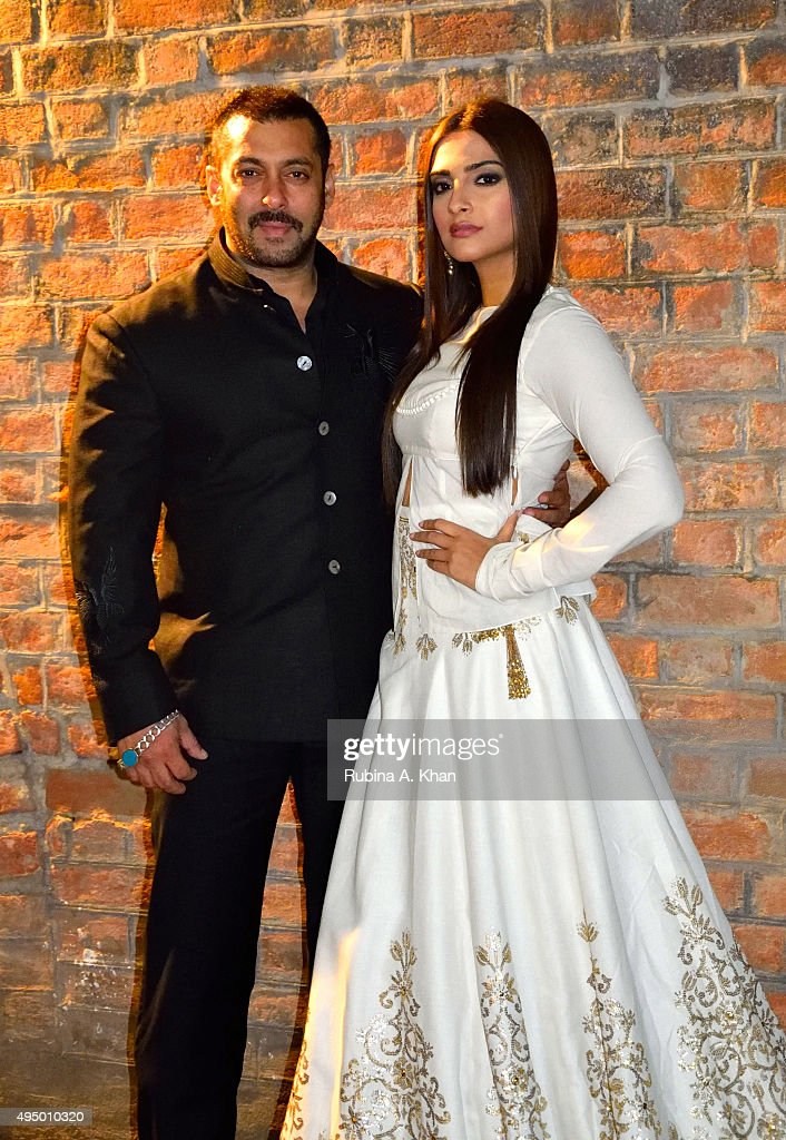 <a gi-track='captionPersonalityLinkClicked' href=/galleries/search?phrase=Salman+Khan+-+Actor&family=editorial&specificpeople=558807 ng-click='$event.stopPropagation()'>Salman Khan</a>'s promotes his Diwali release, Prem Ratan Dhan Payo, that hits theatres on November 12, 2015 with co-star <a gi-track='captionPersonalityLinkClicked' href=/galleries/search?phrase=Sonam+Kapoor&family=editorial&specificpeople=4504004 ng-click='$event.stopPropagation()'>Sonam Kapoor</a> on October 30, 2015 in Ahmedabad, India.