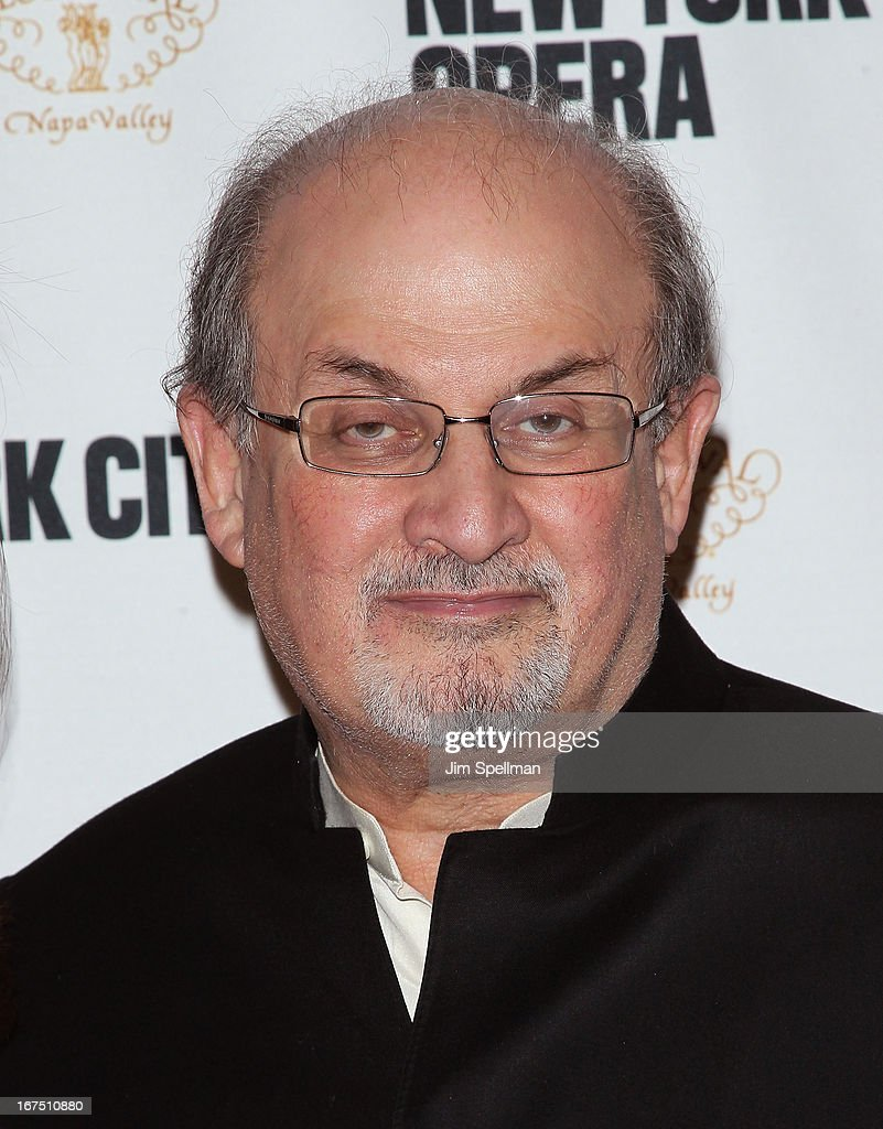 <a gi-track='captionPersonalityLinkClicked' href=/galleries/search?phrase=Salman+Rushdie&family=editorial&specificpeople=203293 ng-click='$event.stopPropagation()'>Salman Rushdie</a> attends the 2013 New York City Opera Spring Gala at New York City Center on April 25, 2013 in New York City.