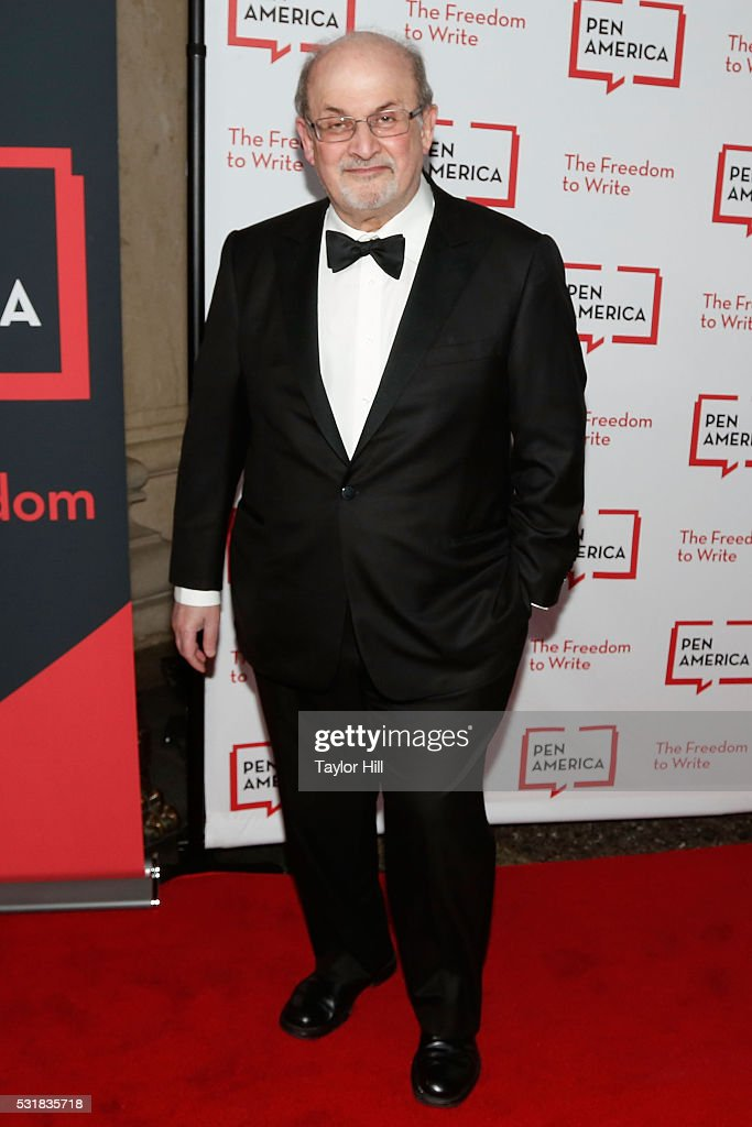Salman Rushdie attends the 2016 PEN America Literary Gala at the American Museum of Natural History on May 16, 2016 in New York, New York.