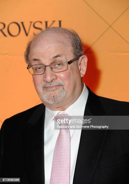 Salman Rushdie attends the 2nd Annual NationalArts Foundation New York Gala at The Metropolitan Museum of Art on April 20 2017 in New York City