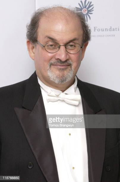 Salman Rushdie during Raisa Gorbachev Foundation – Arrivals at Althorp in Althorp Northamptonshire Great Britain