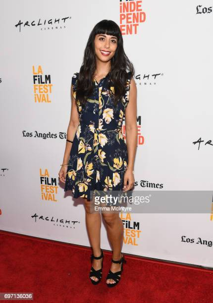 Salme Geransar attends the 'Izzy Gets The Fuck Across Town' and 'Ok Call Me Back' Premieres during the 2017 Los Angeles Film Festival at Arclight...