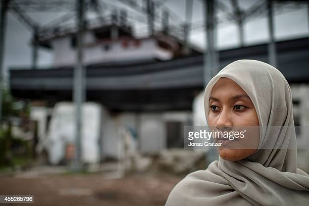 Salmi Hardiyanti studied at a boarding school 10 years ago when she was 14 she was awoken in the winter of 2004 by the earthquake but was a safe...