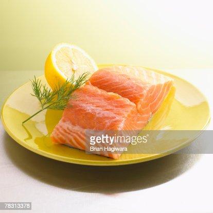 Salmon filet : Stock Photo