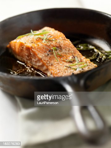 Salmon Filet with Fresh Rosemary