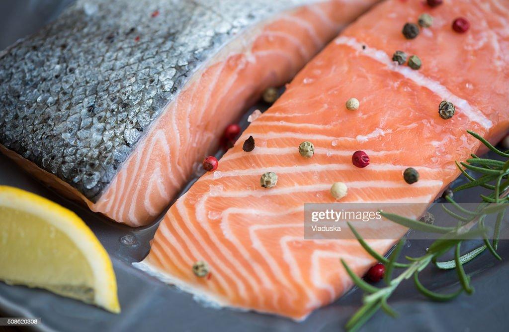 Salmon Fillet : Stock Photo