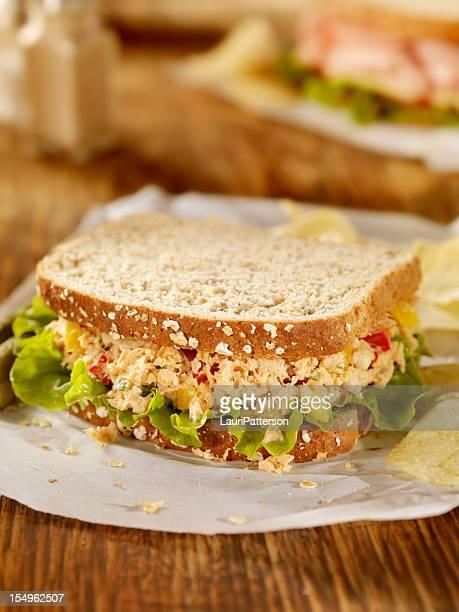 Salade de saumon Sandwich
