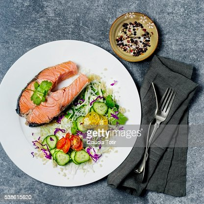 how to make salmon steak