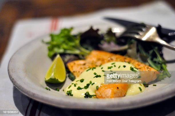 Salmon with creamy mustard sauce makes for a quick dinner with a Frenchinspired sauce what's not to love