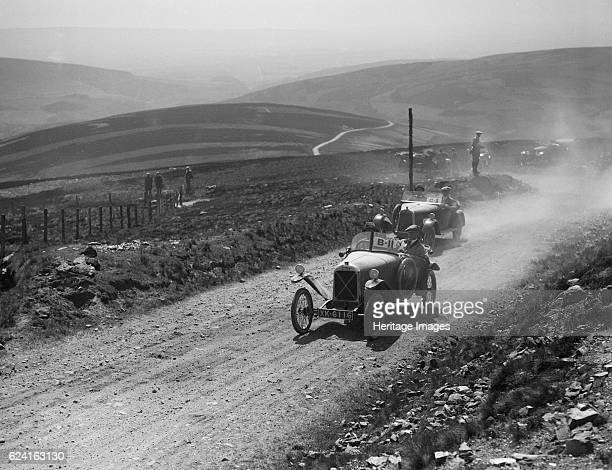 Salmson of Armand Bovier and Talbot 8/18 of HG Day competing in the Scottish Light Car Trial 1922 Artist Bill BrunellSalmson Open sports 2seater 1087...